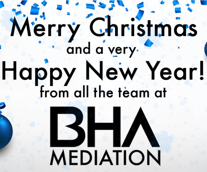 Christmas Wishes from BHA Mediation